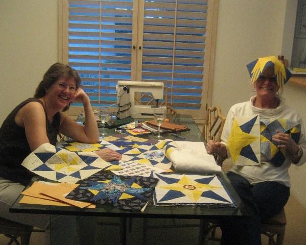01 Kathy & Cheryl Start