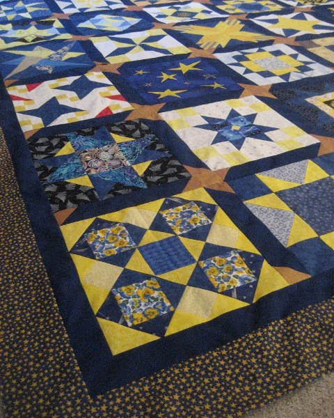 Rotary STARS Turn into Quilt Tops