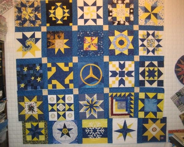 039 Rotary Stars Quilt 2