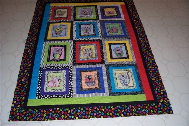 WRAP-A-SMILE COLORING QUILTS
