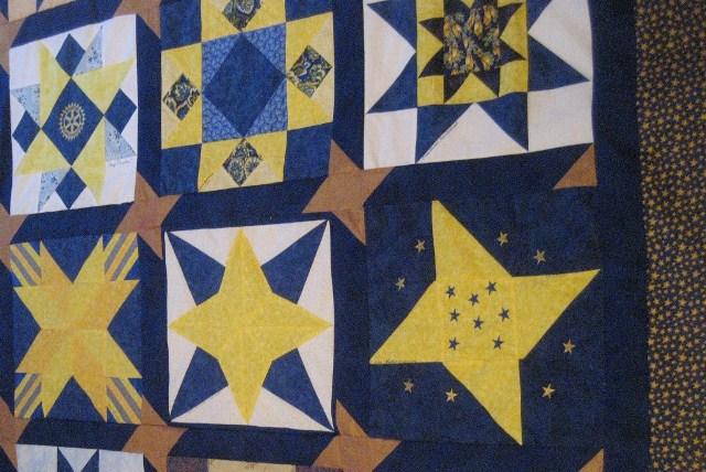 Rotary STARS Quilt